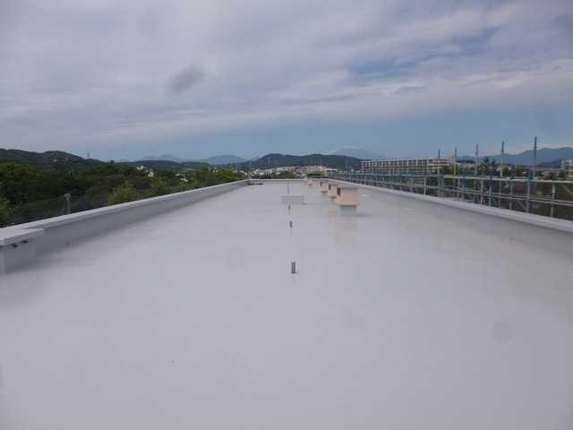屋上防水:工事後