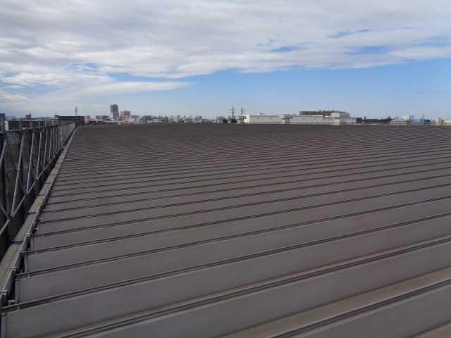 工事前:屋根塗装