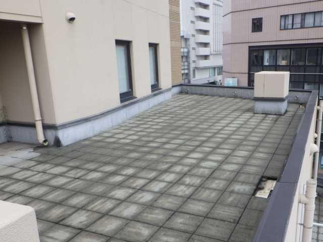 屋上防水:工事前